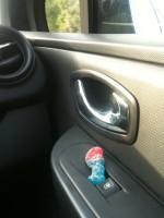 le stroumph en voiture