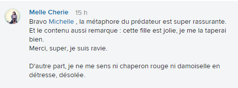 chaperon rouge commentaire